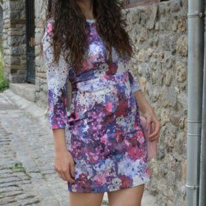 H&M//Lana Del Rey Floral Shift Dress